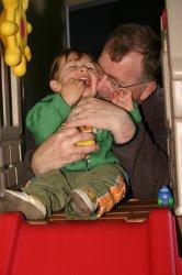 Aidan and Grandpa John