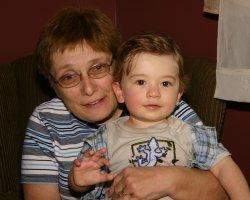 Grandma Kathy and Aidan