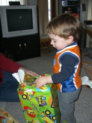 Opening more gifts