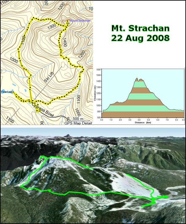 Mt. Strachan hike