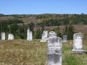 Westchester Mountain Pioneer Graves