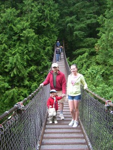 The Lynn Canyon Suspension Bridge