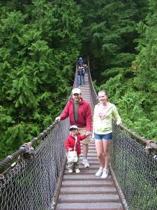 The Lynn Canyon Suspension Bridge