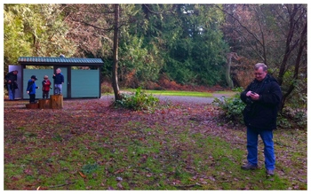 Geocaching in Pacific Spirit Park, January 2011