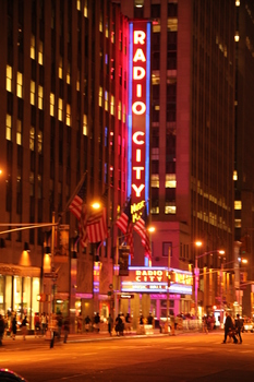 Radio City Music Hall, NYC, August 2010