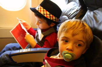 The Flight in Search of Santa, November 2010