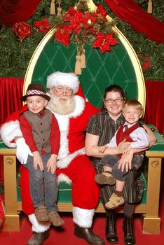 Santa Claus, November 2010